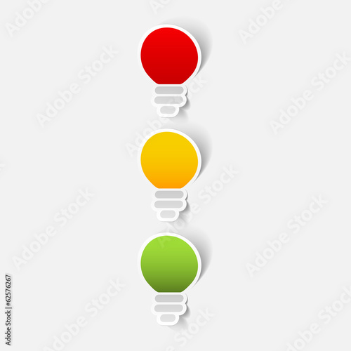 traffic lights sticker