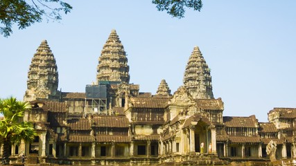 Angkor Wat. The temple complex in Cambodia