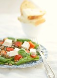 spinach and lentil salad