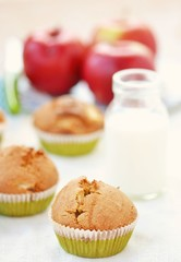 apples muffins