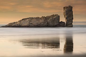Tonos cálidos en la costa