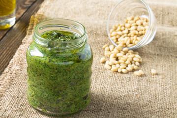 Pesto sauce for pasta pesto