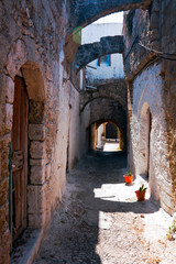 Street of Rhodes, Greece