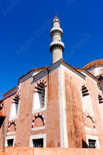 Mosque of Suleiman the Magnificent in  Rhodes, Greece