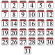 Icon Kalender Monat