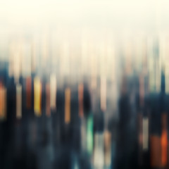 Abstract background with bokeh defocused lights.