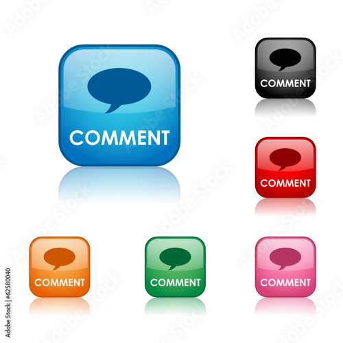 """COMMENT"" BUTTONS (share forum opinion vote like recommend set)"
