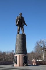 Statue of Sergey Korolev, Moscow, Russia
