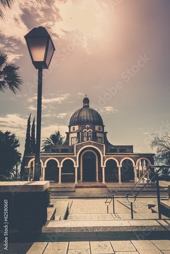 Mount of Beatitudes - exterior