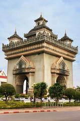 Victory Gate Patuxai, Vientiane, Laos