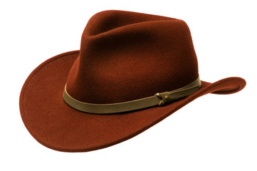 Brown Adirondack Hat