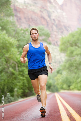 Runner - running athlete man