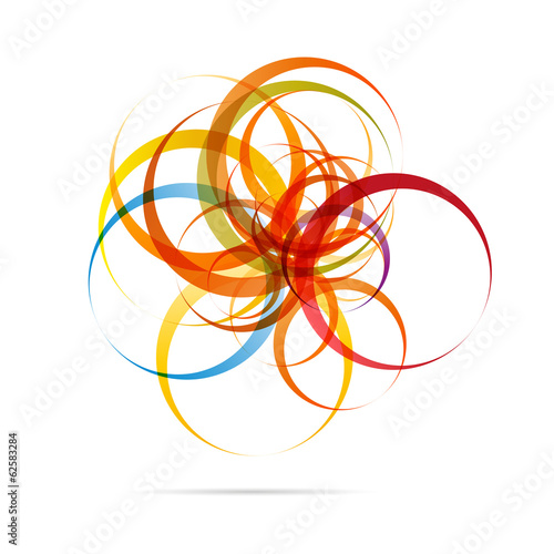 Abstract Circle Design