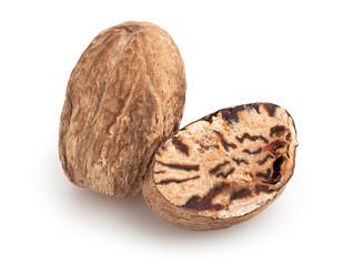 nutmeg isolated