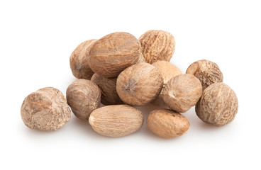 nutmeg isolated
