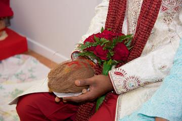 Wedding coconut