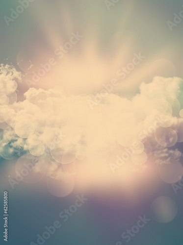 Abstract background with vintage effect - 62585800