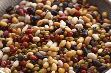 background from many beans