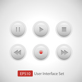 Multimedia Control Button Set