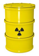 Atommüll Fass