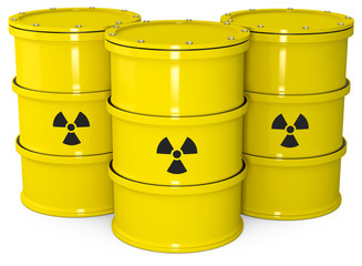 drei Atommüll Fäser