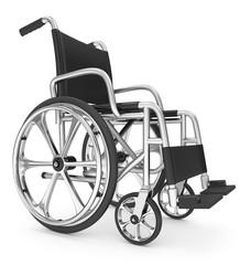 Rollstuhl seitlich