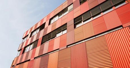 moderne Hausfassade - futuristisch