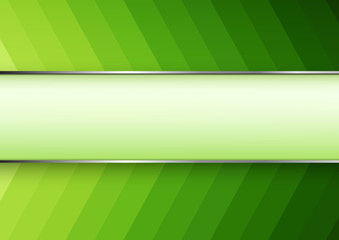 Green arrow technology background