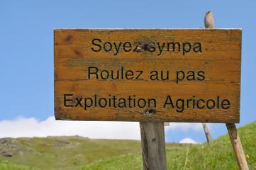 exploitation agricole ,environnement