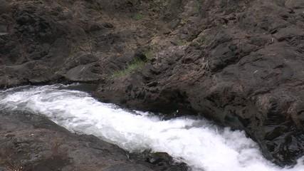 chutes d'eau (Ngare Sero)
