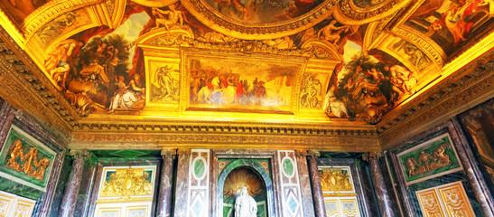 Interior Chateau of Versailles, Paris, France.