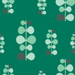 vector abstract pattern texture, green plants