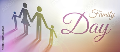 Family Day concept creative illustration