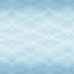 Seamless Blue Abstract Retro Vector Background