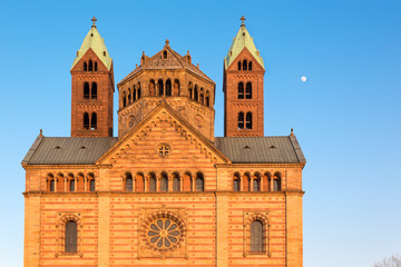 Speyer Cathedral at sunny day, Germany