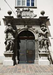 Portone con cornice Barocca, Lubiana