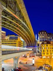 Brücken in Lausanne