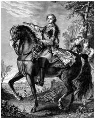 French King Louis XV - 18th century