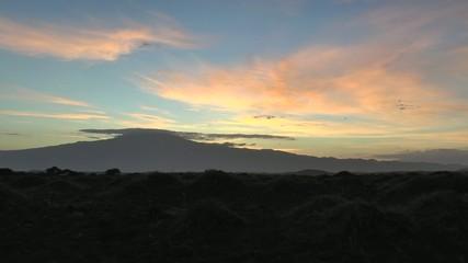 soleil levant au pays des Masaïs
