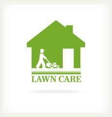 Lawn care symbol