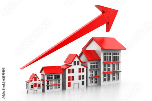 Graph of housing market