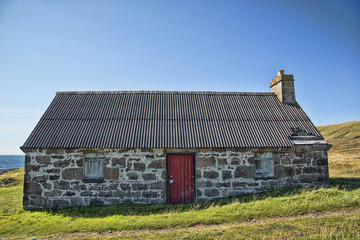 Traditional Croft in the Scottish Highlands