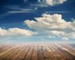 sky and floor