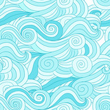 Abstract wave pattern for your design