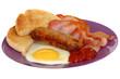 Bacon Egg and Sausage