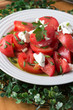salad with tomatoes and onions
