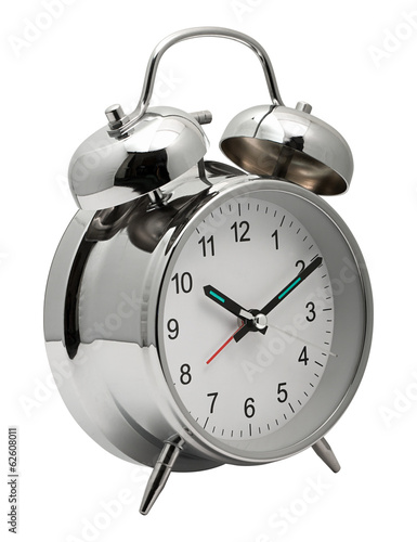 Chrome shiny Alarm Clock