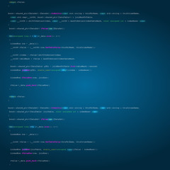 Software engineering technology background concept