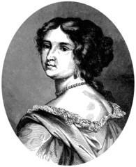 Portrait : Aristocratic Woman - end 17th century
