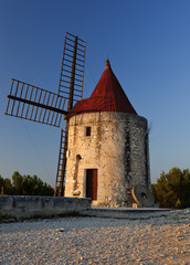 Mill of the writer Alphonse Daudet in Provence